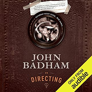 John Badham on Directing audiobook cover art