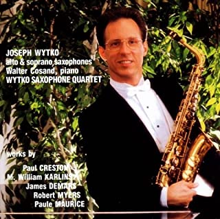 Sonata for Alto Saxophone & Piano, Op. 19 - II. With tranquility (Paul Creston)