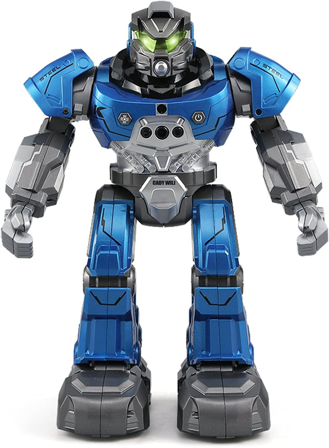OMZBM Smart Robot Toys Gesture Remote Watch Control Humanoid Robot Multifunction Early Education RC Interactive Game