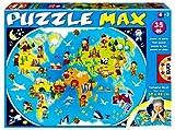 Educa Borrás 13821 - 35 Puzzle MAX Mi Primer Mapamundi