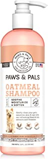 Paws & Pals 5-In-1 Oatmeal Dog Shampoo, Conditions, Detangles, Moisturizes, Anti Itch, Odor Control - Made in USA w/Medica...