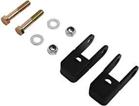 CNSY 2PCS Front Suspension Shock Extender Leveling Lift Kit Fit For GMC Sierra 1500 Chevy Chevrolet Silverado 1500 99-07 4WD