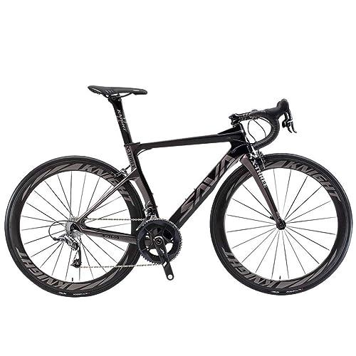 SAVADECK Phantom 2.0 700C Bicicleta de Carretera de Fibra de ...