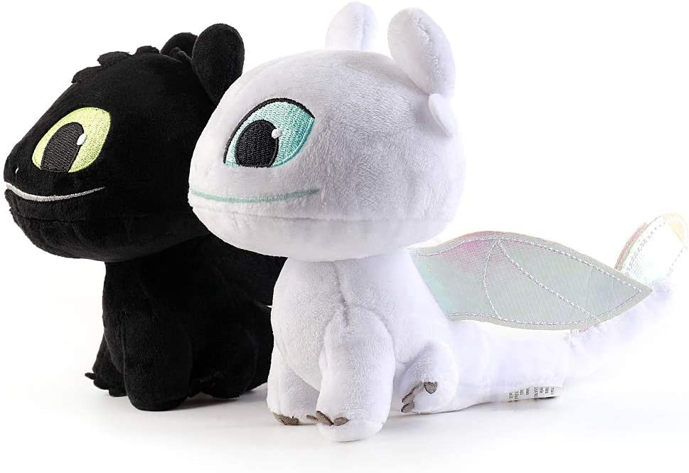 Honeytoy 2 PCS Set Light 5 popular Night Fury How Clearance SALE! Limited time! to Your Train Dragon