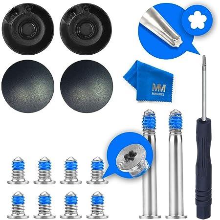 MMOBIEL Lot de 4 Patins antidérapant compatible avec MacBook Air 11 et 13 Pouces A1370 A1369 A1465 A1466 Incl Kit d'Outils