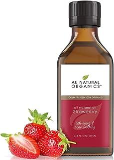 Au Natural Organics Strawberry Seed Oil 3.4 Oz
