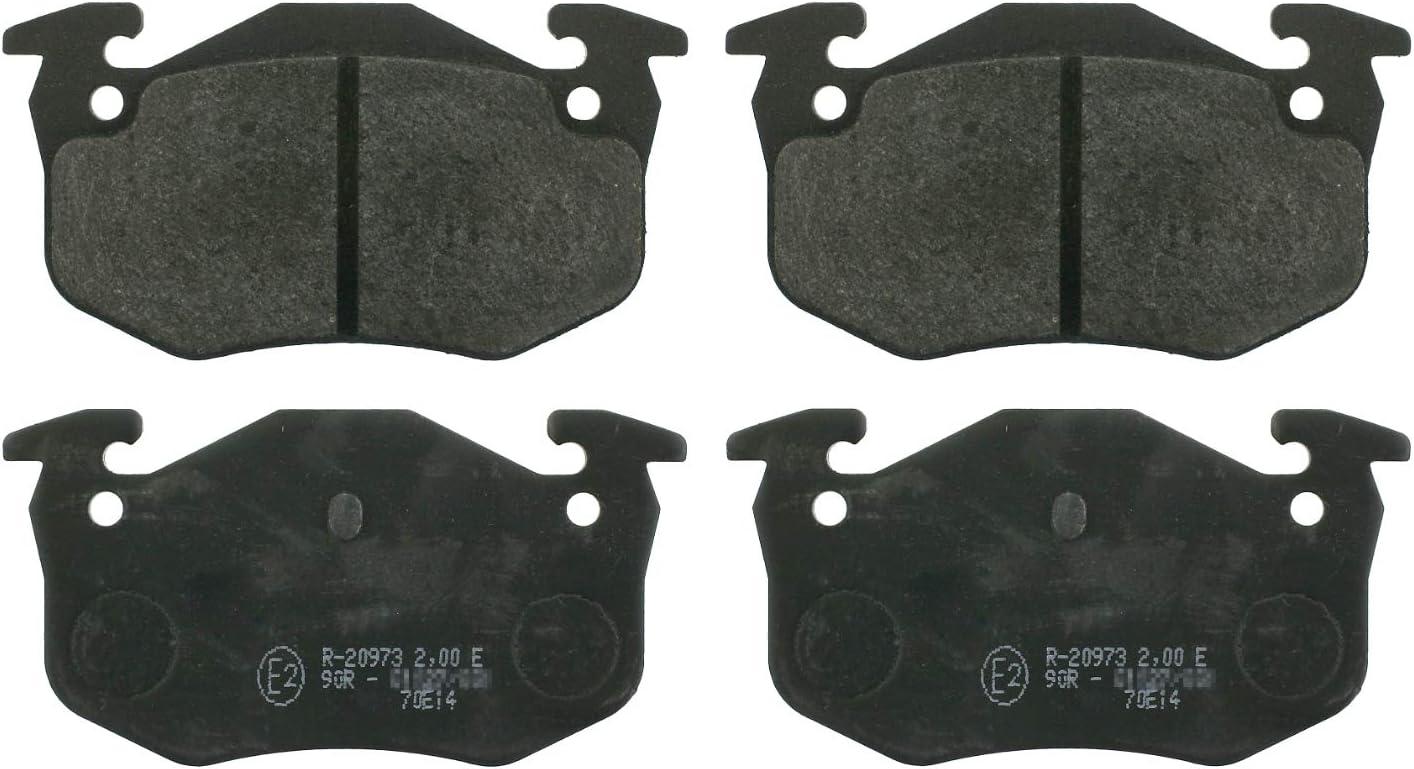 febi bilstein San Diego Mall 16222 brake pads Challenge the lowest price of Set rear 4 axle