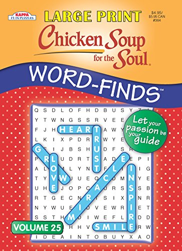 Chicken Soup for the Soul LARGE PRINT Word-Finds Puzzle Book-Word Search Volume 19