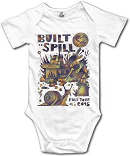 Retro Built To Spill Untethered Moon Car Living Zoo Baby Onesie Coverall Creeper Baby's Bodysuit
