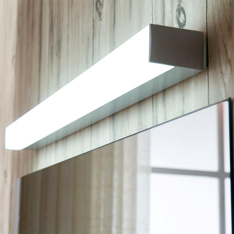 WYQLZ Spiegel-Licht LED-Spiegel-vordere Lampen-Toilette Einfache moderne Badezimmer-Wand-Lampen-Verfassungs-Spiegel-Kabinett-Toiletten-Spiegel-Licht (Farbe  Warmes weies Licht, 8W Lnge 40 cm)