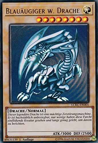 LCKC-DE001 - Blauäugiger w. Drache (Artwork 1) - Ultra Rare - Yu-Gi-Oh - Deutsch - 1. Auflage
