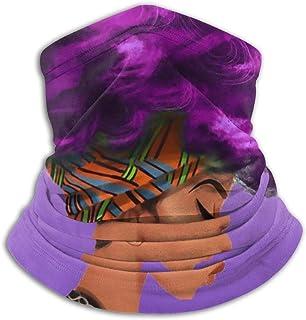 Loveternal Unisex Bandanas Multifunktional Halbes Gesicht Nasenklammer 3D-Druck Winddicht Ohrschlaufen Schal Atmungsaktiv Staub Mundbedeckung mit Zwei austauschbaren Filtern