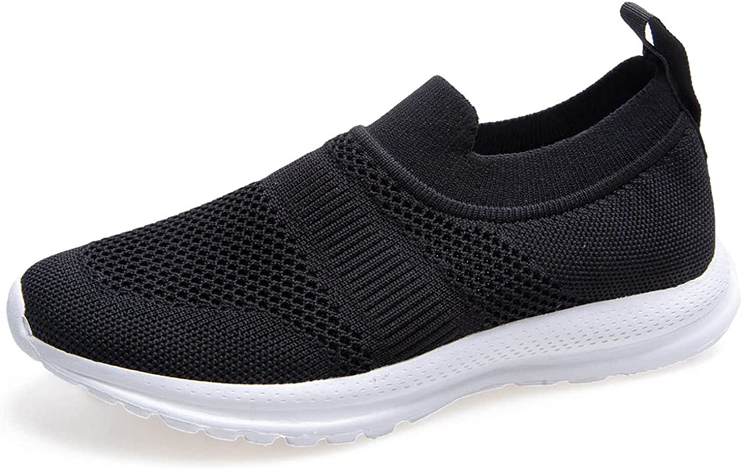 Women's Walking Shoes Slip-on Tennis Shoes Walking Running Sneakers Lightweight Breathable Casual Soft Sole Trainers