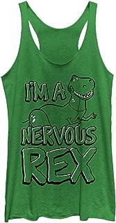 Toy Story Women's Nervous Rex Racerback Tank Top