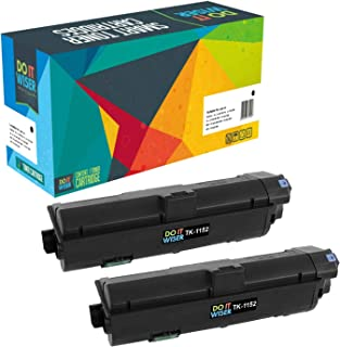 Do it Wiser Compatible Toner Cartridge Replacement for Kyocera TK-1152 / TK1152 Kyocera ECOSYS P2235dw M2635dw M2635dn P2235dn M2135dn M2735dn Printers - 1T02RV0US0 (Black, 2-Pack)