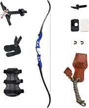 """SinoArt 66"""" Metal Riser Takedown Recurve Bow Adult Archery Competition Athletic Bow Weights 20 22 24 26 28 30 32 34 36 LB ..."""