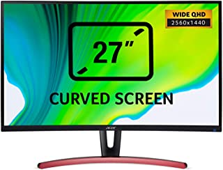 Acer ED3 ED273URPBIDPX LED Display Wide Quad HD Curva Negro - Monitor (68,6 cm/27