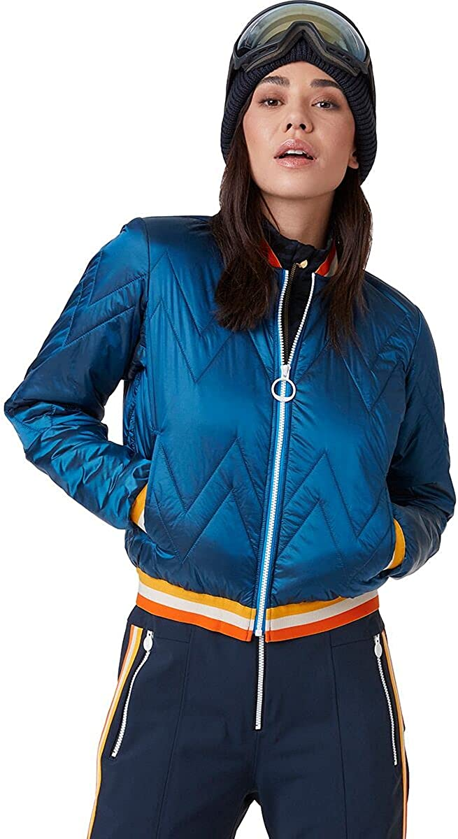 Helly Hansen Womens Tricolore Quilted Insulator Jacket - 639 Electric Blue, XL