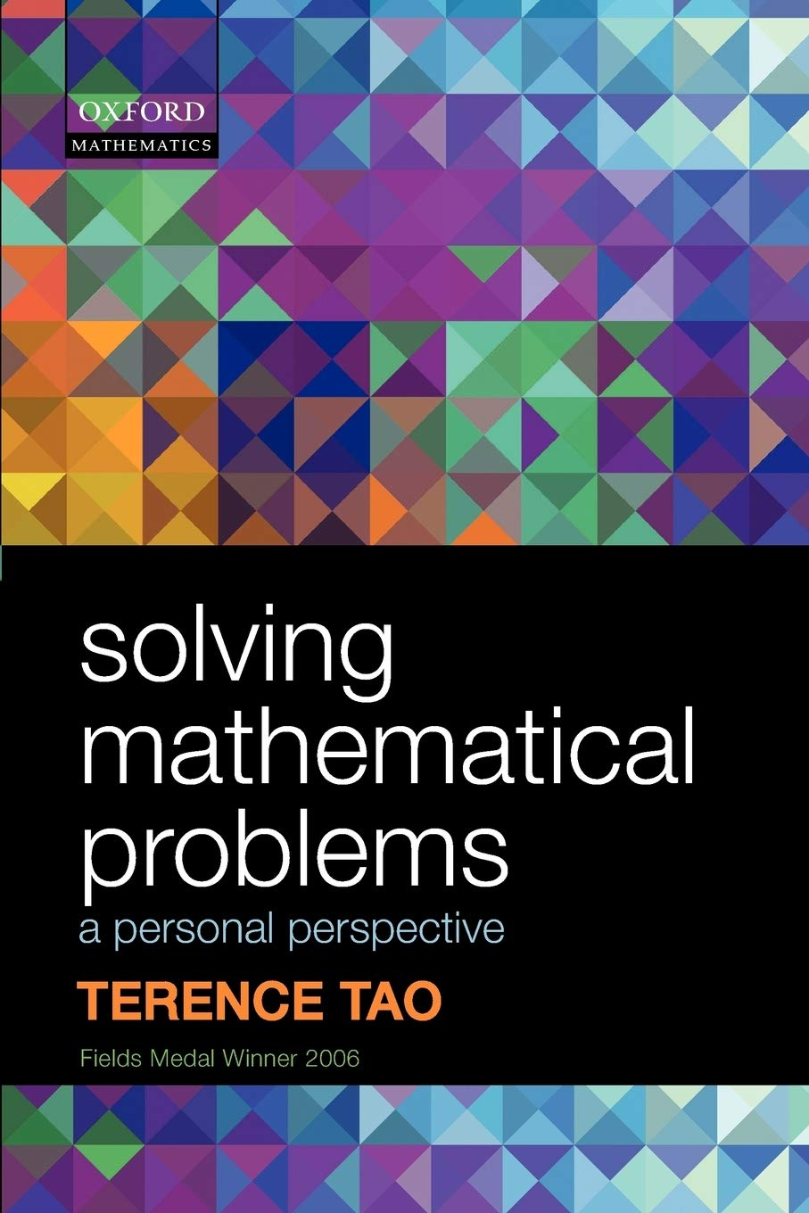 Image OfSolving Mathematical Problems: A Personal Perspective
