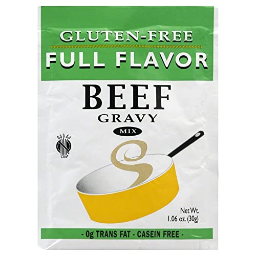 Full Flavor Foods: Beef Gravy Mix 1.06 Oz (12 Pack Case)
