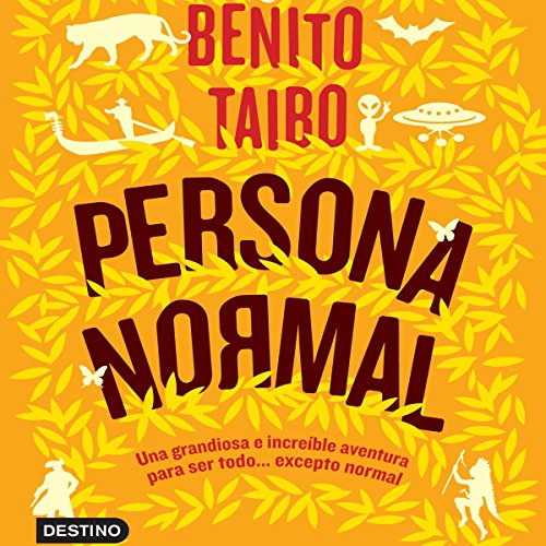 Persona normal audiobook cover art