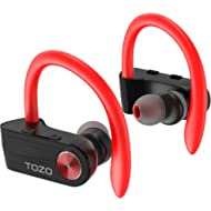 TOZO T5 TWS Bluetooth Headphones, True Wireless Stereo Sport Earphones with Mic, HD Sound with...