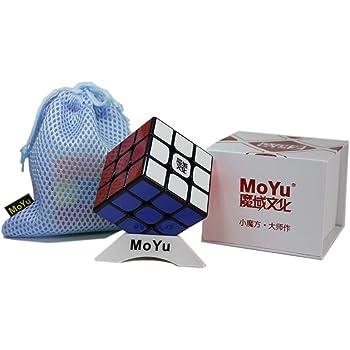 Senza Adesivo Moyu WeiLong GTS 2M cubo di velocit/à Magica con Una Borsa cubo e Un Supporto cubo