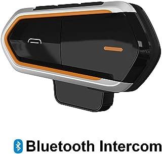 Baile Motorcycle Bluetooth Headset,1000M Helmet Bluetooth Communication Systems Ski Helmet Headphones Bluetooth Intercom Walkie-Talkie for Snowmobile,Up to 3 Riders