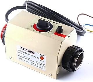 Jian Ya Na 2KW 50 ~ 60Hz calentador eléctrico de piscina SPA baño bañera de hidromasaje termostato calentador de agua eléctrico con CE accesorios de piscina 220V