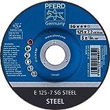Pferd 62212626 Meule d'ébarbage 125 x 7,2 mm pour Cordons de soudure dur courbé
