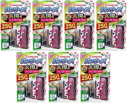 【まとめ買い】虫コナーズ 玄関用 虫よけプレート 250日用 フレッシュフローラルの香り【×7個】