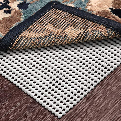 Ophanie Non-Slip Rug Pad Gripper 4x6 Extra-Thick Pad Gripper for Hard Surface Floors, Keep Your Rugs Safe and in Place