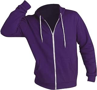 SOLS Silver Unisex Full Zip Hooded Sweatshirt/Hoodie