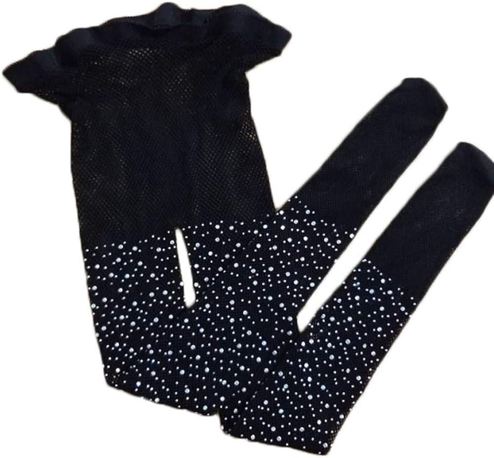 Fashion Girls Children Kids Mesh Fishnet Pattern Pantyhose Rhinestone Tights Stockings