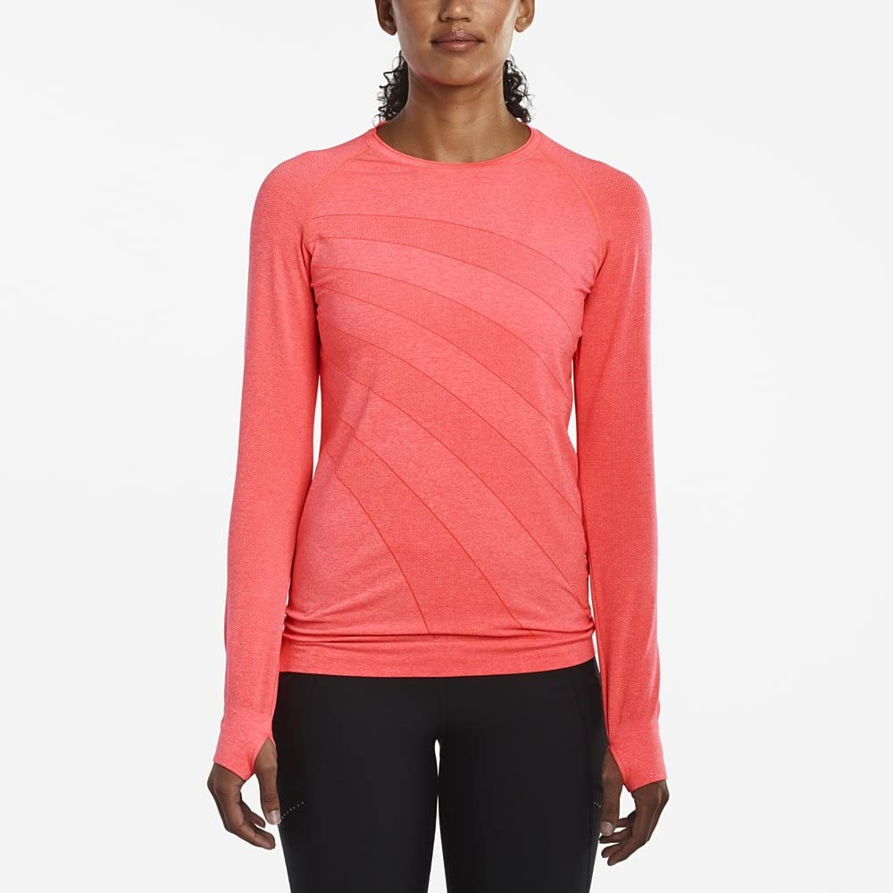 Saucony Dash Seamless Long Sleeve gray size S