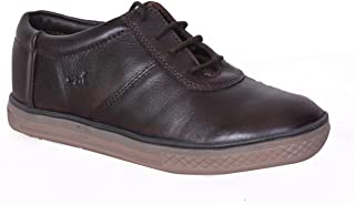 MARDI GRAS Pure Leather Youth Casual Shoes