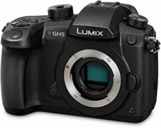 Panasonic LUMIX GH5 Touch Control 4k Splash/Dust/Freezeproof Unrivalled Video And Photo Hybrid Camera, Body Only, Black (D...