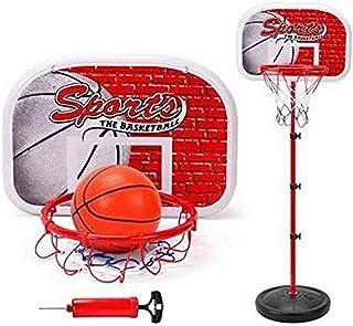 SKEIDO adjustable Kids BasketBall Back Board Stand & Hoop Set Toy Gift For Children-150cm