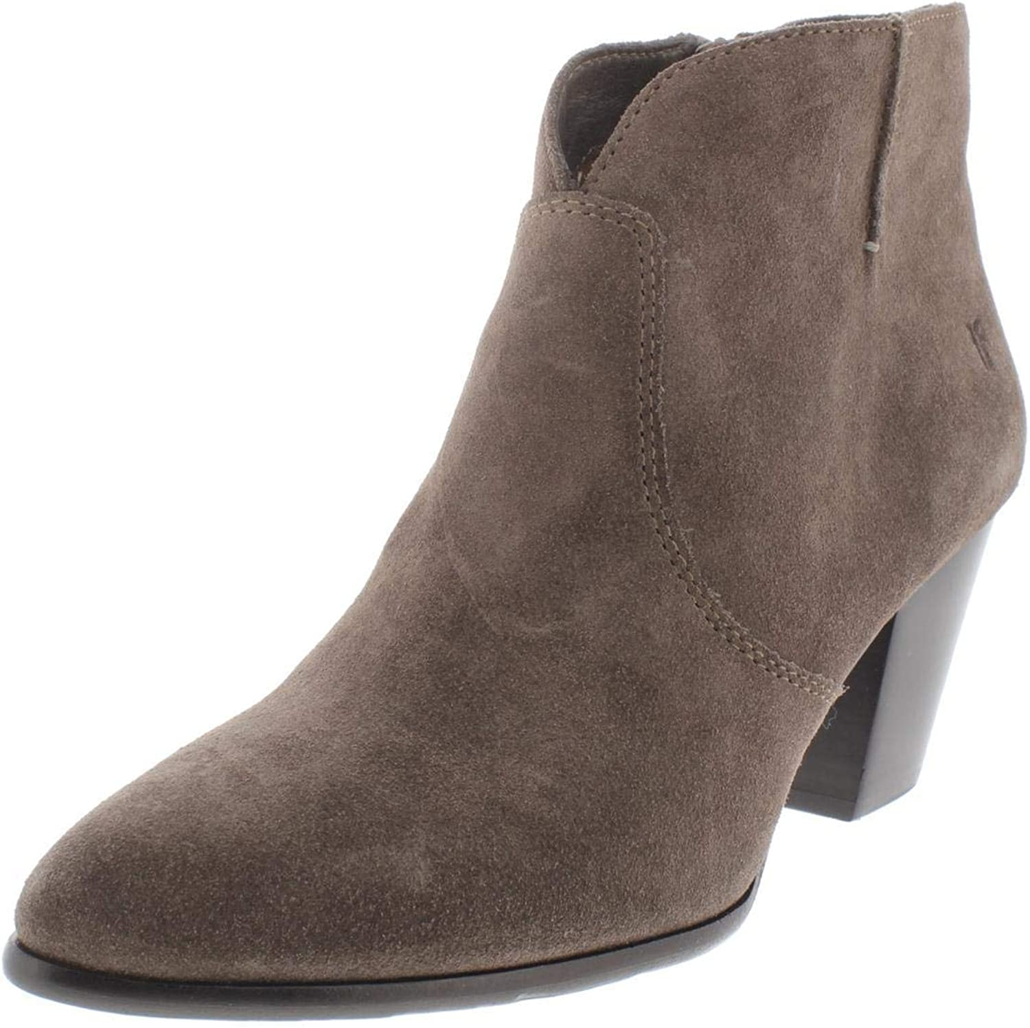Frye Womens Jennifer Suede Heels Booties