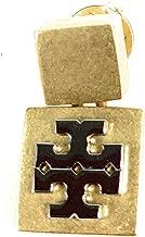 Tory Burch Logo Block T earring Goldtone