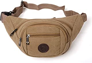 DIEBELLAU New Washed Cloth Pockets Solid Color Small Bag Fashion Wild Women Bag (Color : Khaki)