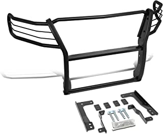Black Powder-Coated Steel Front Bumper Brush Grille Guard Protector for Chevy Colorado 15-19