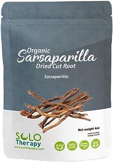 Organic Sarsaparilla Dried Cut Root , 4 oz. , Smilax Medica , Raíz De Zarzaparrilla 4 oz. Tea , Sarsaparilla Herbal Tea , ...