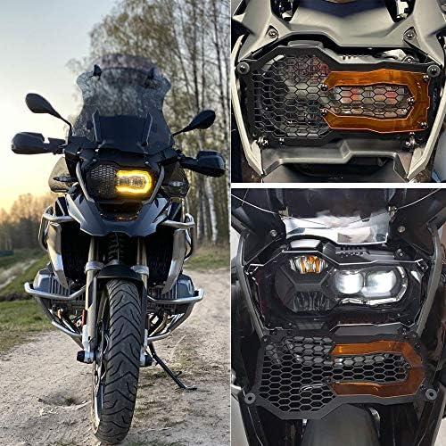 Motorrad Schutz Zubehör Frontscheinwerfer Schutzhülle Für B Mw R1200gs R1200gs Adventure 2014 2020 R1200gs Lc 2013 2018 R1200gs Lc Adventure 2014 2018 R1250gs R1250gs Adventure 2018 2020 Grün Auto