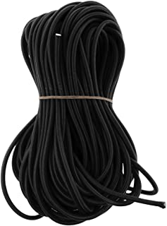 kesoto 5mm Sandow Tensioner Bungee Drawstring Elastic Rope Shock Resistant Wear for Roof Bar Trailer Tarps Boat