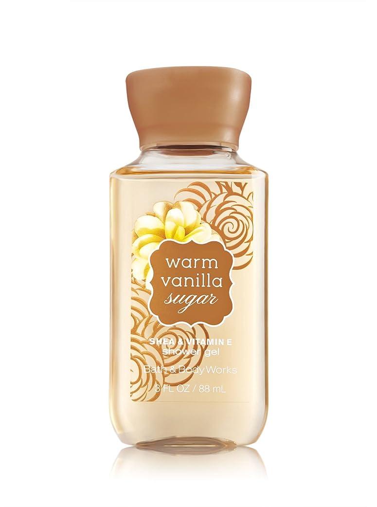カウント粘液完了バス&ボディワークス ウォームバニラシュガーシャワージェル トラベルサイズ Warm Vanilla Sugar Shower Gel Travel-Size [並行輸入品]