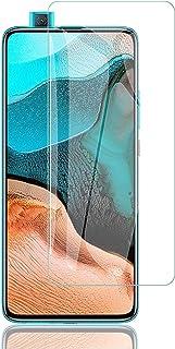 【二枚】Xiaomi POCO F2 Pro/Redmi K30 Pro 5G 対応 ガラスフィルム KAKUP 日本製素材旭硝子製 2.5Dラウンドエッジ加工 硬度9H 指紋防止 防気泡 高透過率 防爆裂 強化ガラス POCO F2 Pro ...