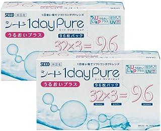 ワンデーピュアうるおいプラス 96枚入り 2箱セット 【BC】8.8 【PWR】-2.50