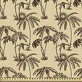 ABAKUHAUS Baum Stoff als Meterware, Tropische Palmen