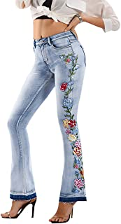 Best embroidered patch jeans Reviews
